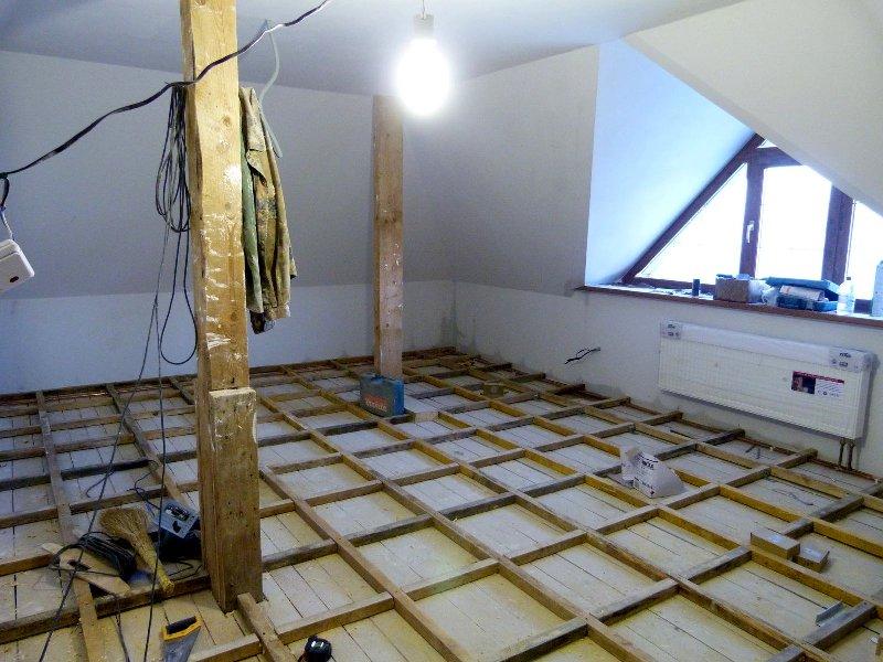 Строительство мансарды дома фото