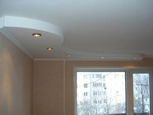 Потолки из гипсокартона на кухне своими руками фото