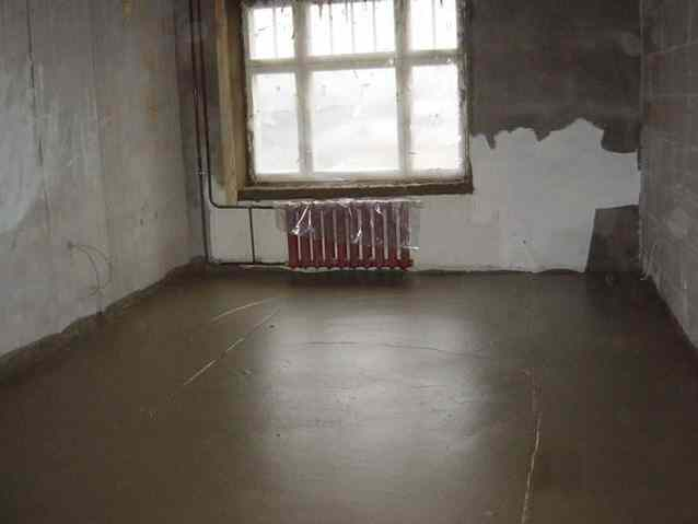 ремонт квартир стяжка пола